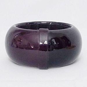 Cara Couture Chunky Purple Bangle Bracelet
